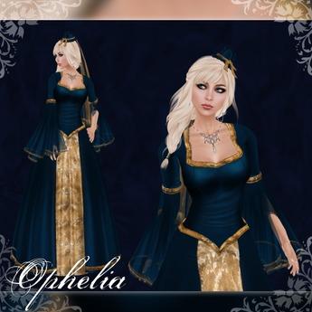 [K~*~S] Ophelia - Gown - Ocean