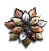 Bronze Flower Burst