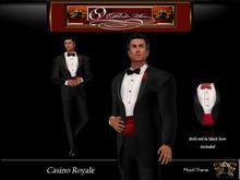 69 Park Ave GQ Tuxedo - Casino Royale