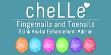 cheLLe - Glitter #1 SLink AE Nails