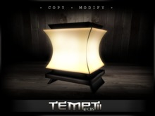 *Temptii* Zen Lamp [Chocolate]