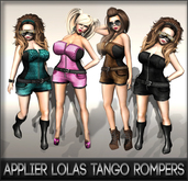 NS:: Appliers Lolas tango Rompers