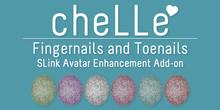 cheLLe - Glitter #2 SLink AE Nails