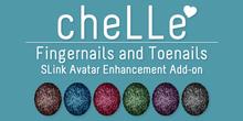 cheLLe - Glitter #3 SLink AE Nails