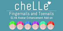 cheLLe - Pointed #4 SLink AE Nails