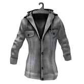 [Clearance] AITUI - Denim Jacket - White Wash