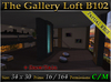 The Gallery Loft B102 *Fully Furnished* MESH Skybox