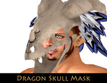 -Dragon Skull Headress- [WILD]