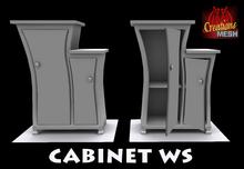 Cabinet WS FULL PERM MESH