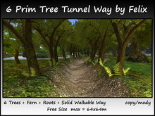 6 Prim Treeway Tunnel by Felix copy/mody