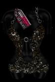 [DC]Glitz Chained Dress (blk) w/ TANGO APPLIER