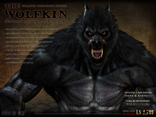"""The Wolfkin"" Full-Body Mesh Wolfman Avatar"