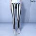 *COCO*_StripedPants_Black