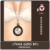 ::LEO-NT:: Time goes by -Necklace- [darkwood]