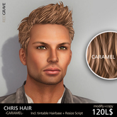 Hairstyle CHRIS - Caramel - REDGRAVE