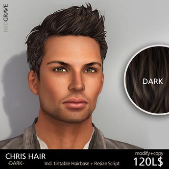 Hairstyle CHRIS - Dark - REDGRAVE