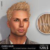 Hairstyle CHRIS - Blond - REDGRAVE