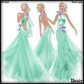 DESIR Orchid dress Green1