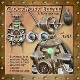 Tiny Clockwork Beetle Avatar (Boxed)