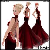 DESIR Sayoko dress red