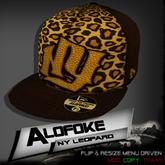 .:: Alofoke Designs ::. NY Leopard Cap