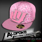 .:: Alofoke Designs ::. NY Pink Leopard Cap