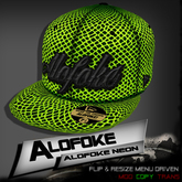 .:: Alofoke Designs ::. Alofoke Neon Cap
