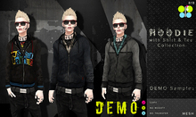 DEMO Hoodie with Shirt Collections