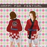[MotiAme] Happi for Festival Red