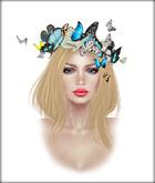 Boudoir-Butterfly Wreath