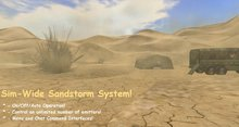 Sim-Wide Sandstorm System!  On/Off/Automatic Operation!