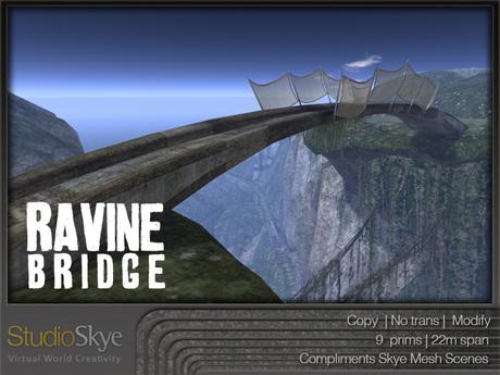 NEW+ Ravine Bridge from Studio Skye 100% MESH