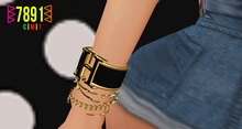 [7891.] Rellis Bracelets - Gold (W\Resize)