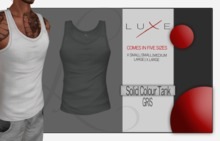 -LUXE- Wife Beater - Gris