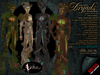 PETITES Male Dryads, tiny mesh avatars + Fallen Gods Inc.