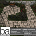 [ba] stone garden pavers path kit - packaged