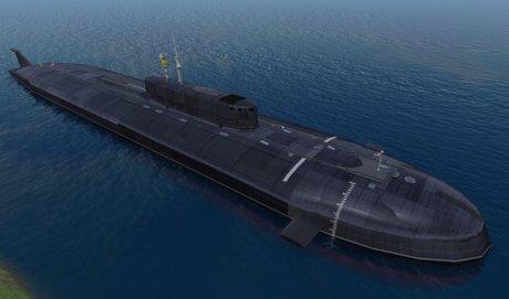 Submarine Russian OSCAR II Class - Sellbox