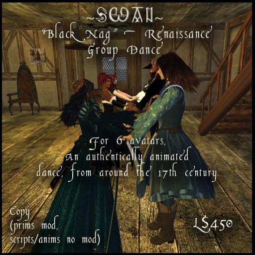 ~SWAN~ 'Black Nag' Renaissance/Medieval Group Dance