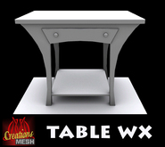 Table WX FULL PERM MESH