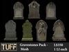 [TUFF] Gravestones Pack - Mesh