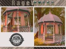 Rustic Gazebo - 100% Mesh - (RageWorks)