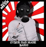 FK! - Cyber Gas Mask Mesh - Basic