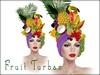Boudoir-Fruit Turban