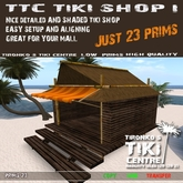 BeachBonanza TTC New Tiki Shop VF I [boxed]