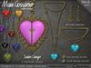 Necklace - Titania's Filigree Heart
