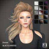 TRUTH HAIR Denee (Mesh Hair) - black & whites
