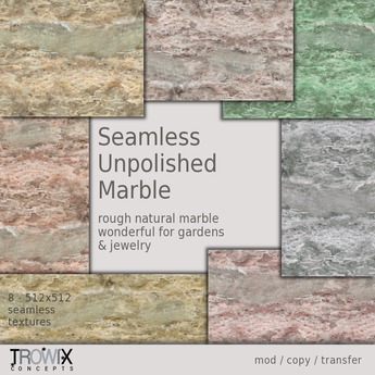 Trowix - Seamless Unpolished Marble Textures