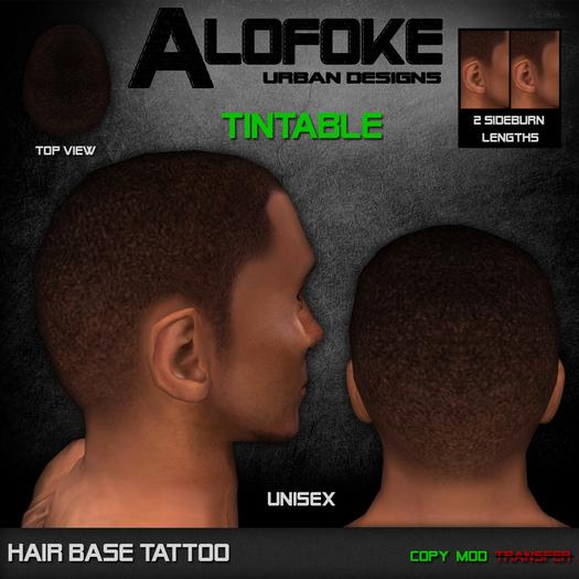Alofoke! - Hair Base Tattoo (PROMO 50% OFF)