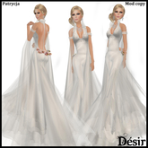DESIR Patrycja dress White