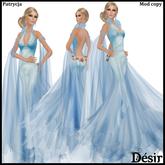 DESIR Patrycja dress Blue